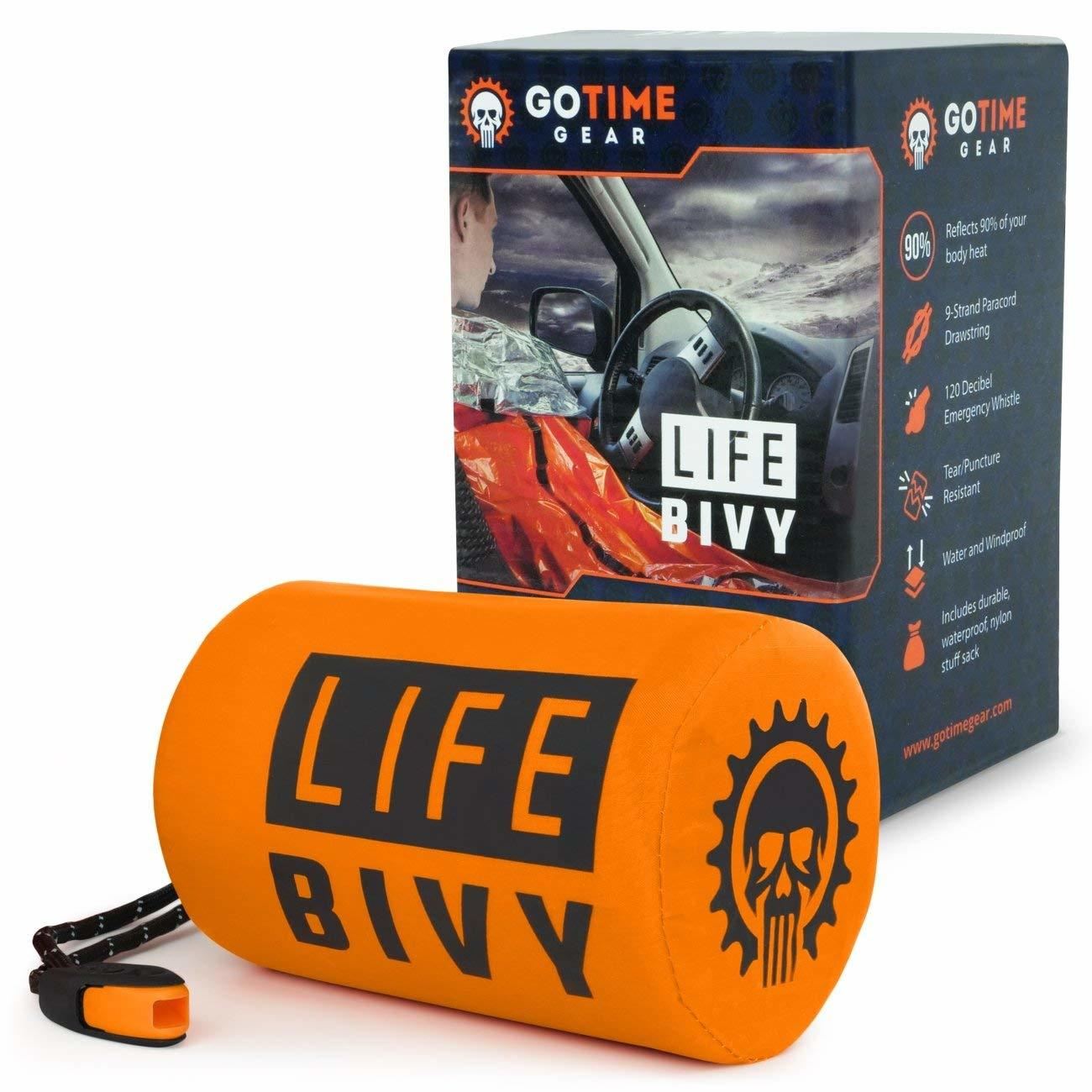 Life Bivy Emergency Sleeping Bag Thermal Bivvy