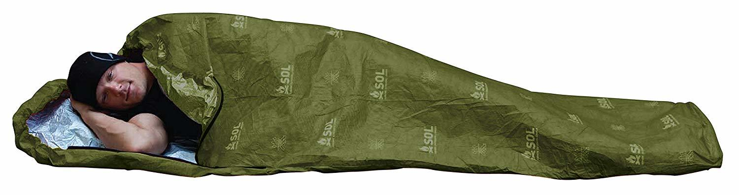 S.O.L Survive Outdoors Longer Escape Bivvy OD Green