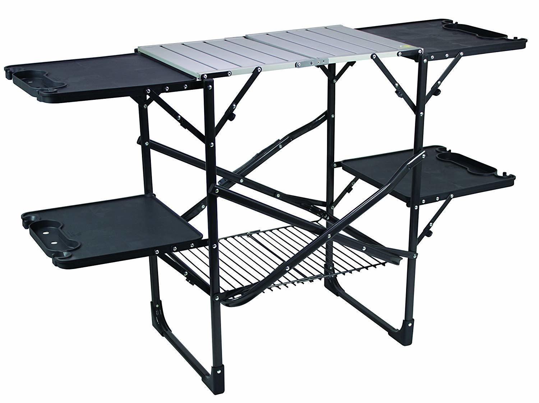 GCI Outdoor Slim-Door Champ Kitchen Portable Folding Cook Station