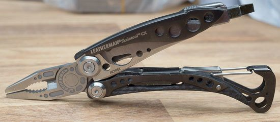 Leatherman-Skeletool-CX-Multi-Tool-Open