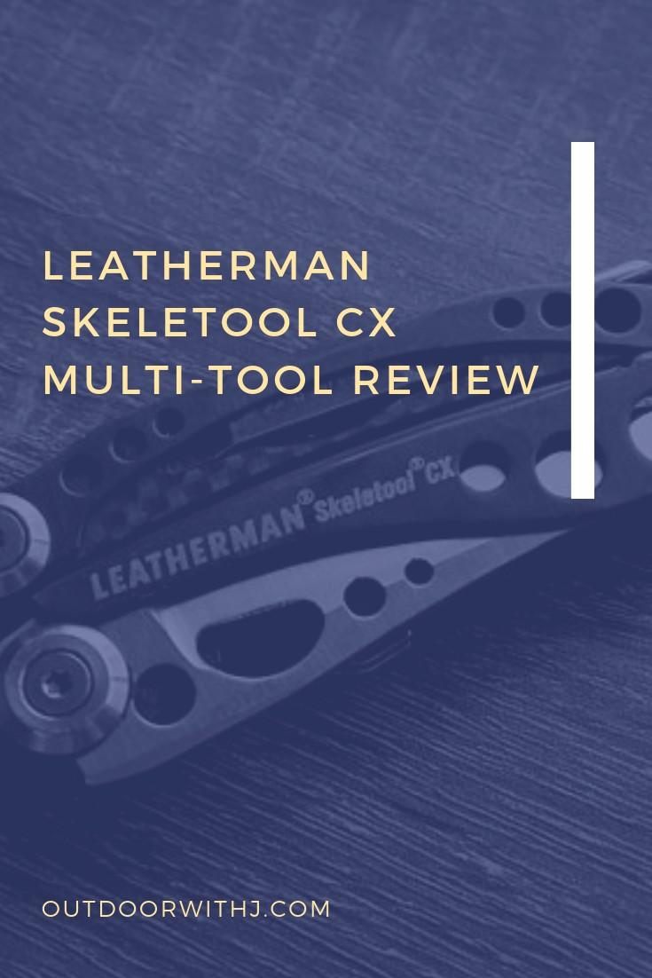 Leatherman Skeletool CX Multitool review