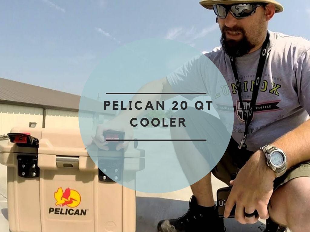 Pelican 20 QT Cooler