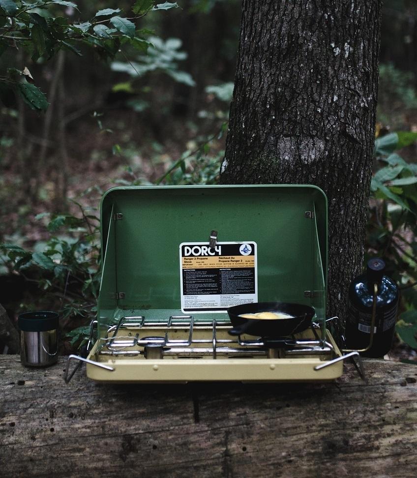 camping gas stove