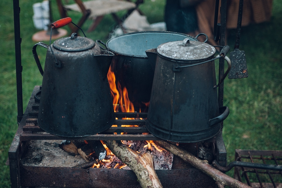 dutch oven and pots