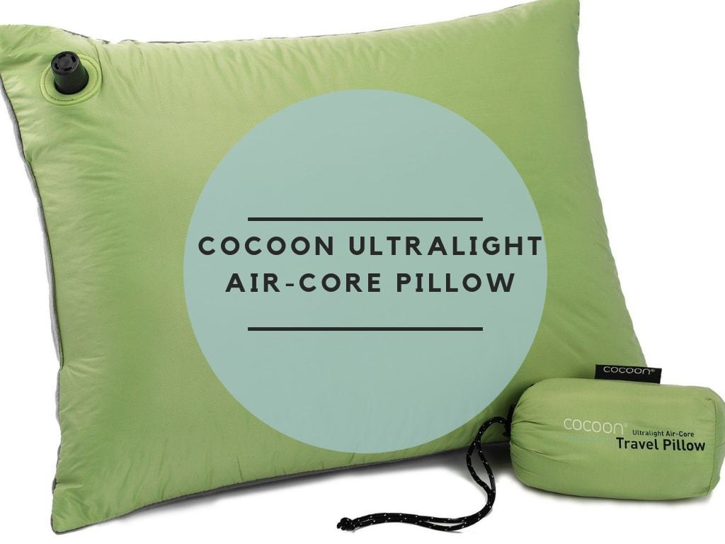 Cocoon Ultralight Air-core Pillow review