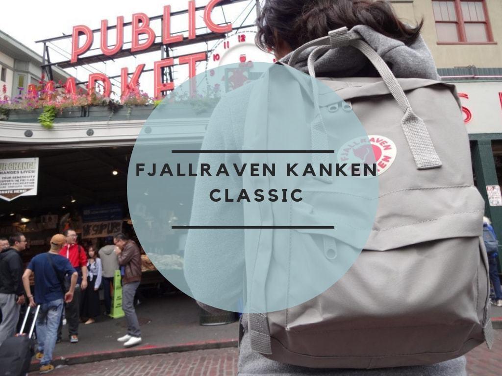 Fjallraven Kanken Classic review