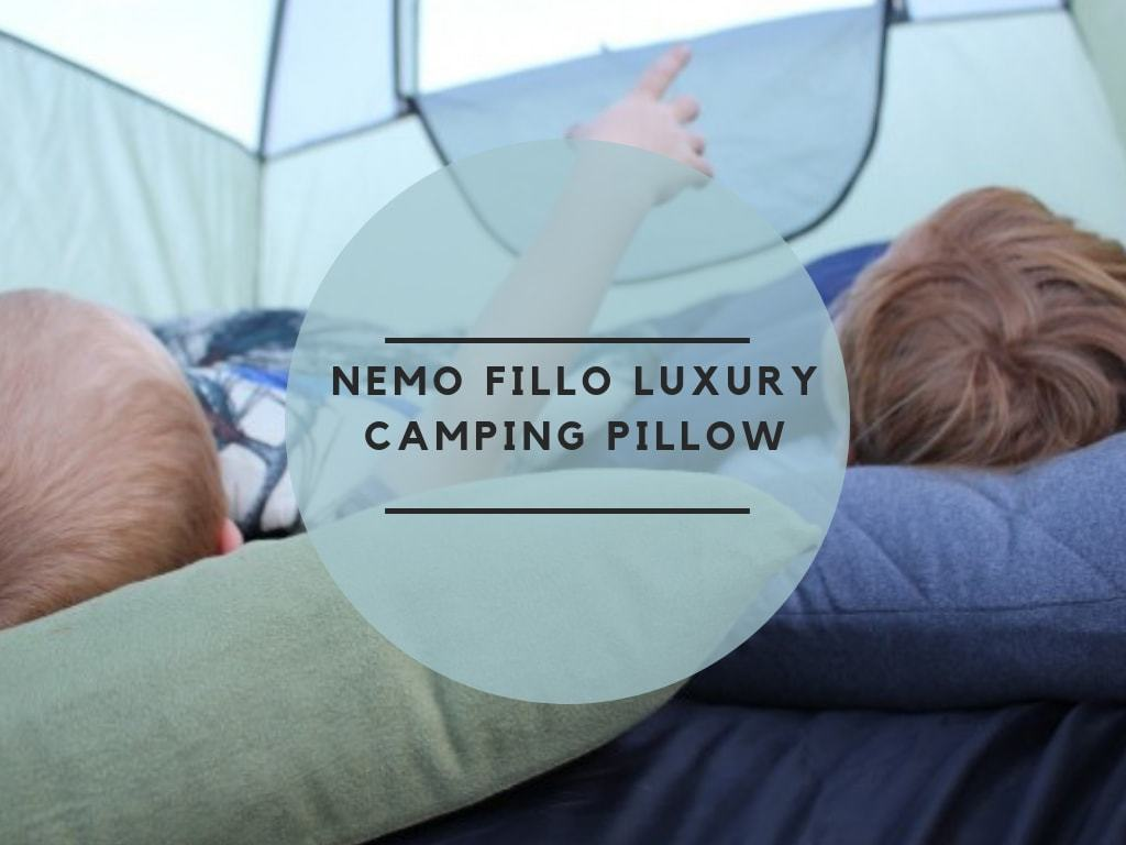 Nemo Fillo Luxury Camping Pillow review