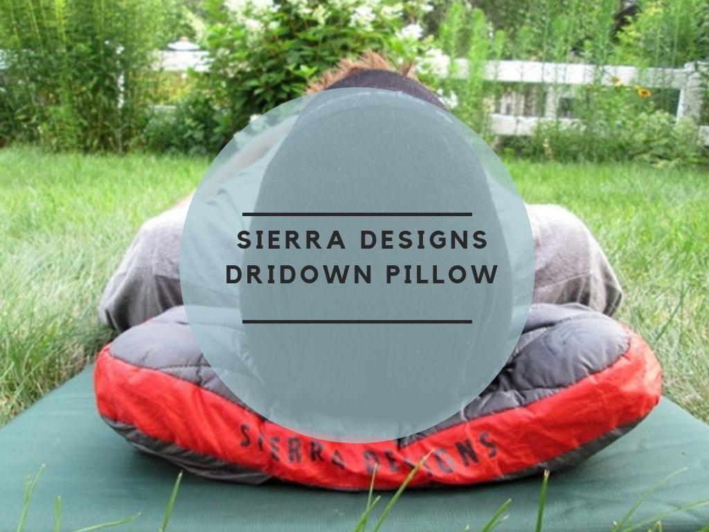 Sierra Designs DriDown Pillow review
