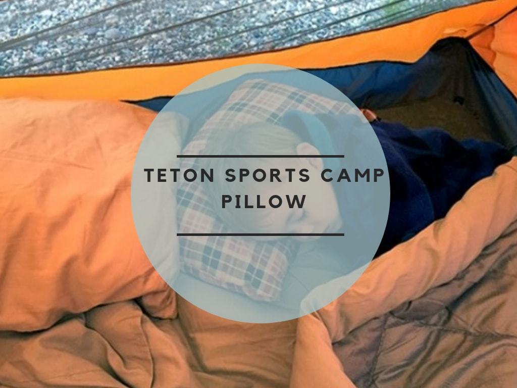 Teton Sports Camp Pillow review