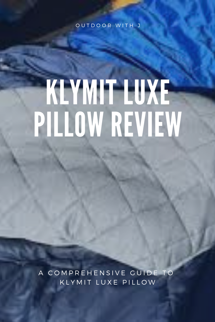 Klymit Luxe Pillow review