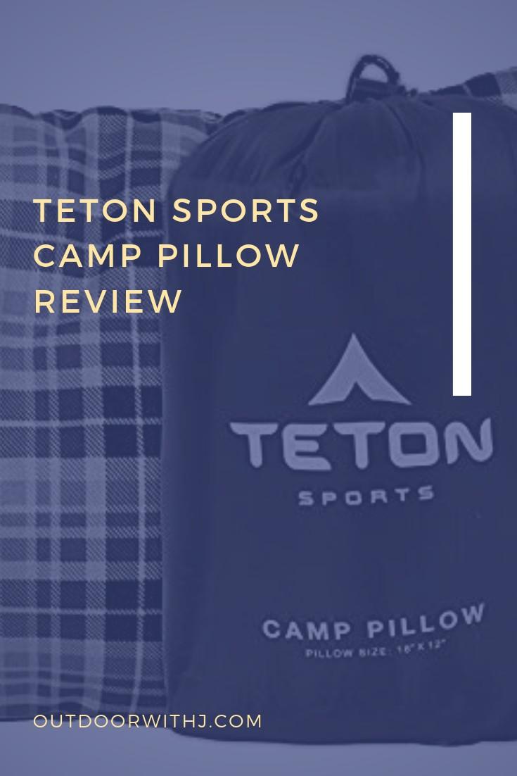 The Teton Sports Camp Pillow review