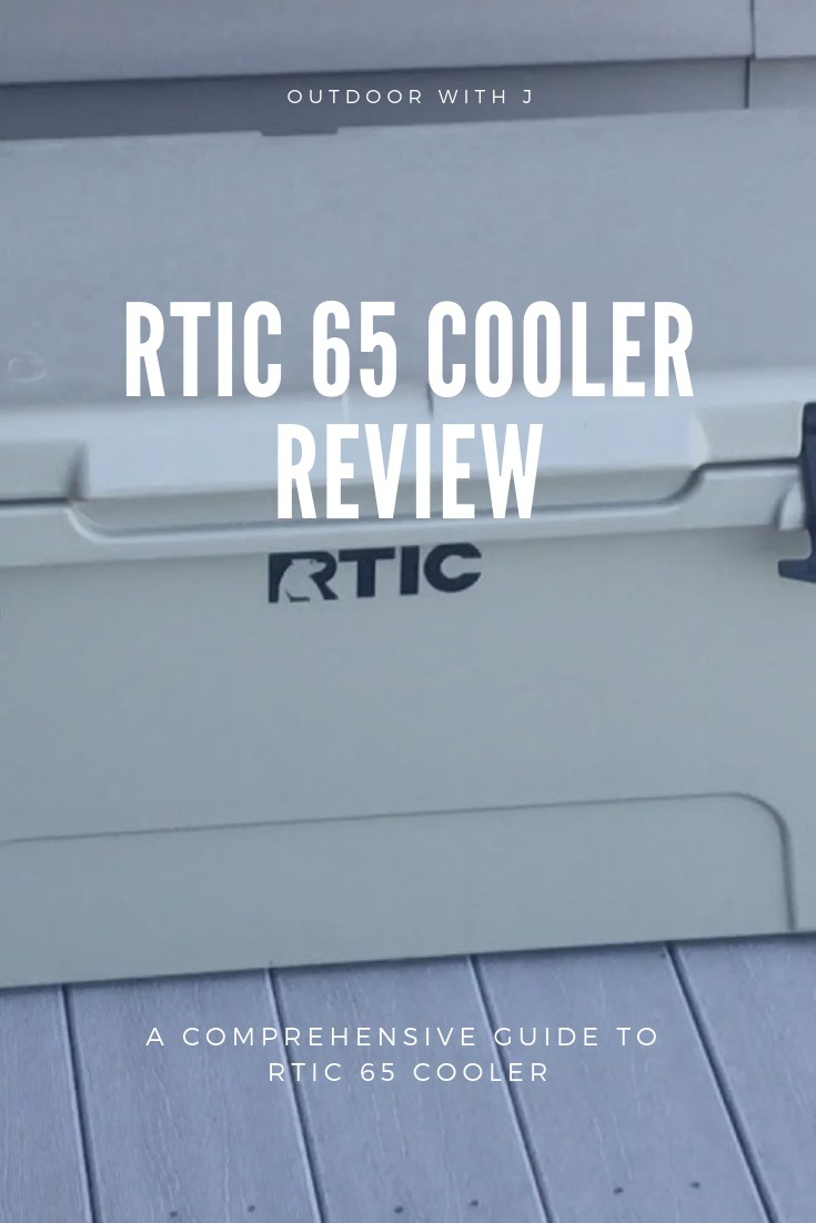 RTIC 65 cooler review pin