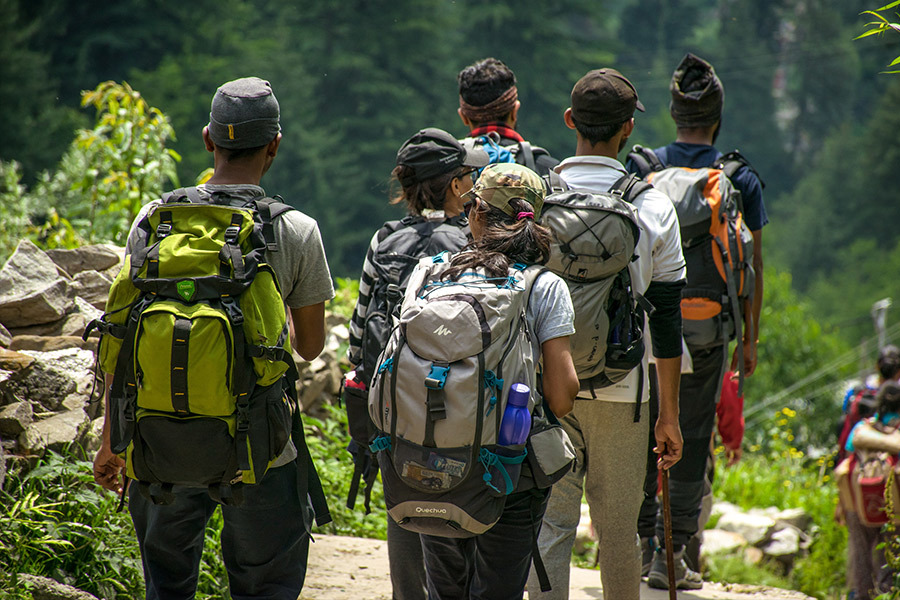 Backpacking or Hiking Camping