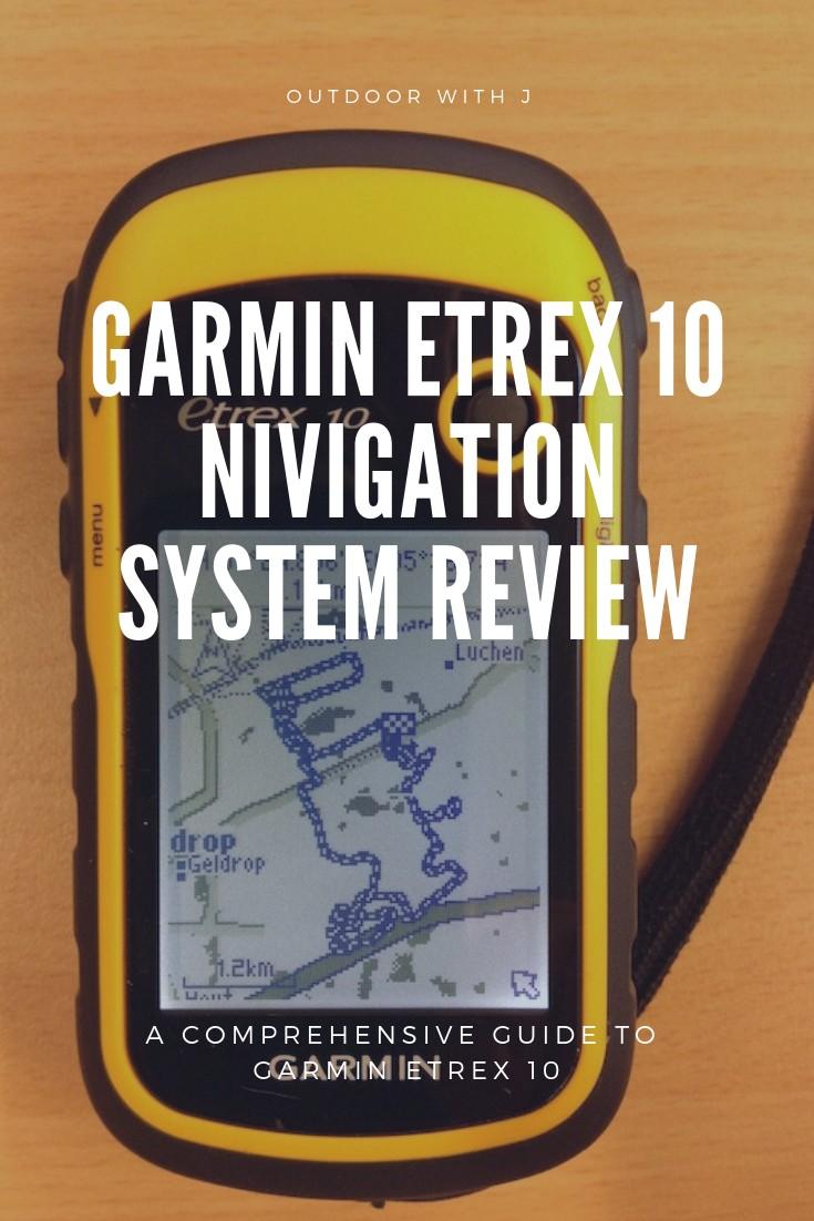 Garmin etrex 10 GPS review