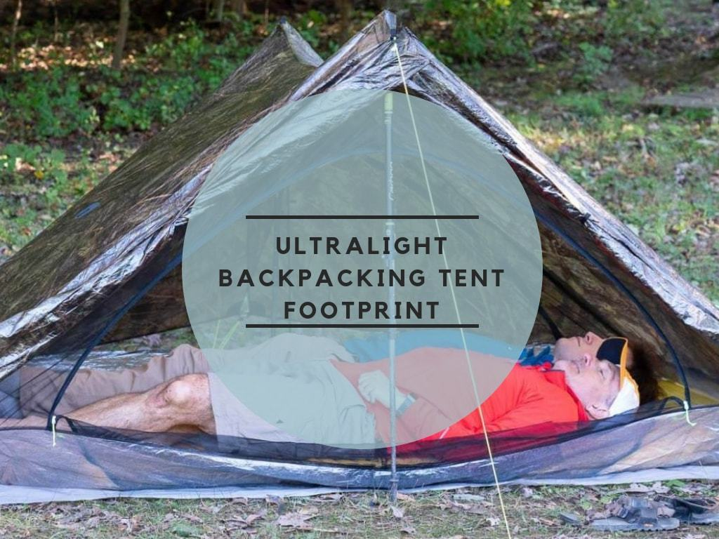 Ultralight Backpacking Tent Footprint