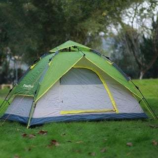 dome tent in the outdoor