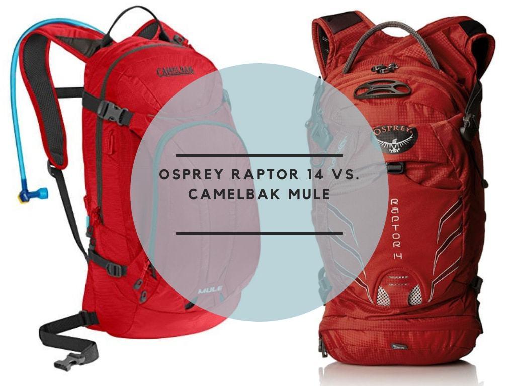 Osprey Raptor 14 vs. CamelBak mule