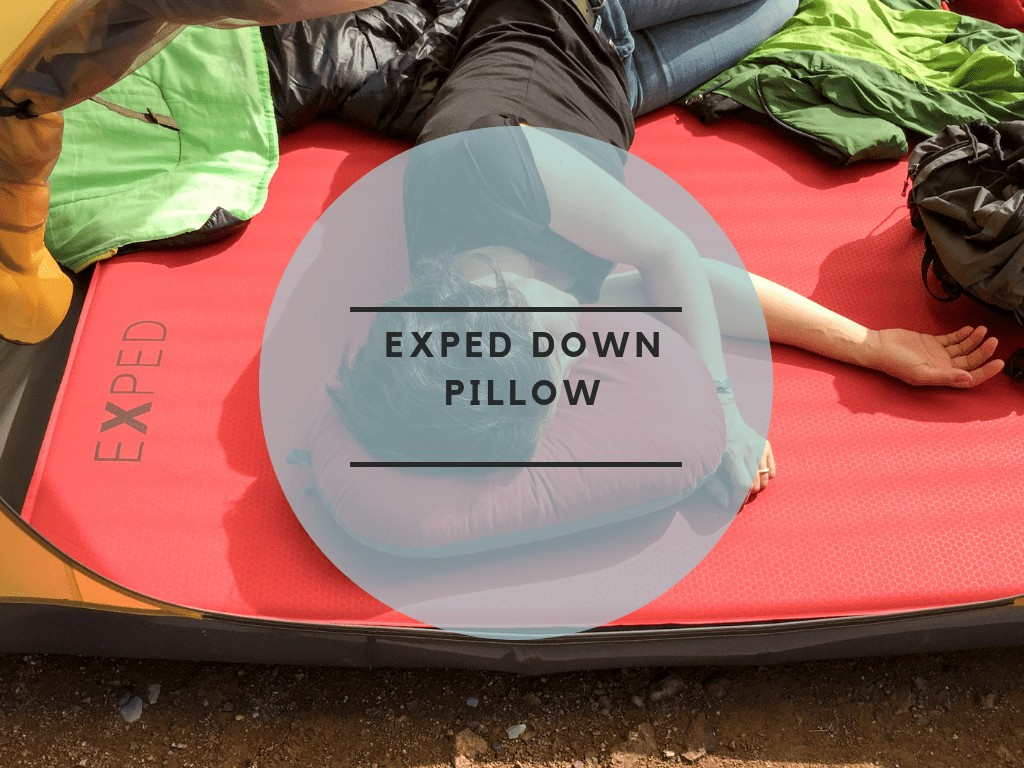 Exped down pillow feature image