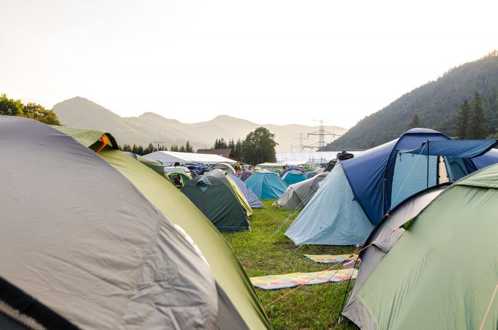 3-Season Tents in the field