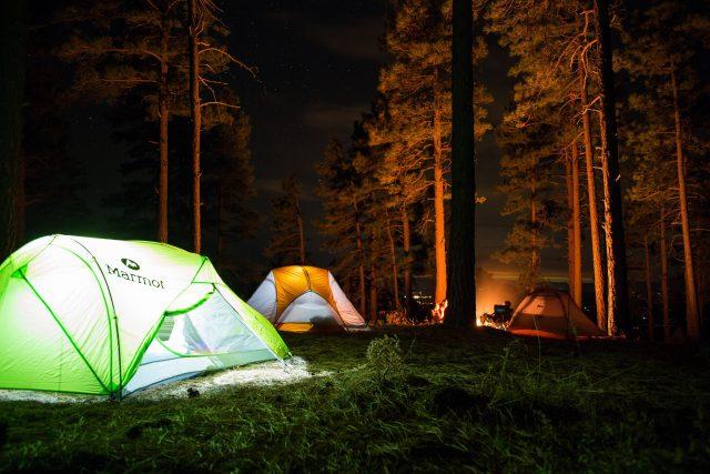 3-season and a 4-season tent