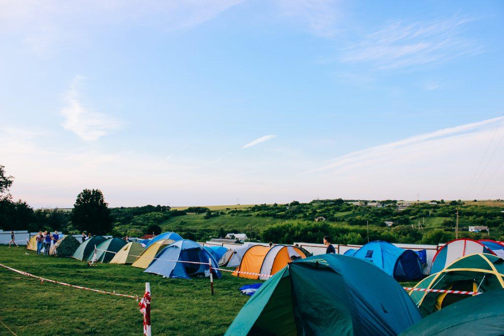 4-Season Tents in the field
