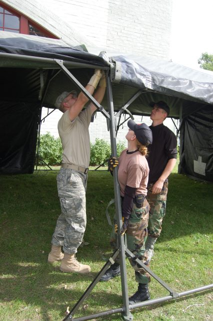 Fix a Tent Pole