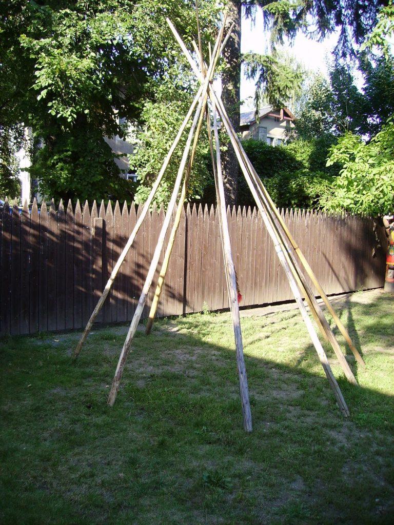 Creating Teepee Tent