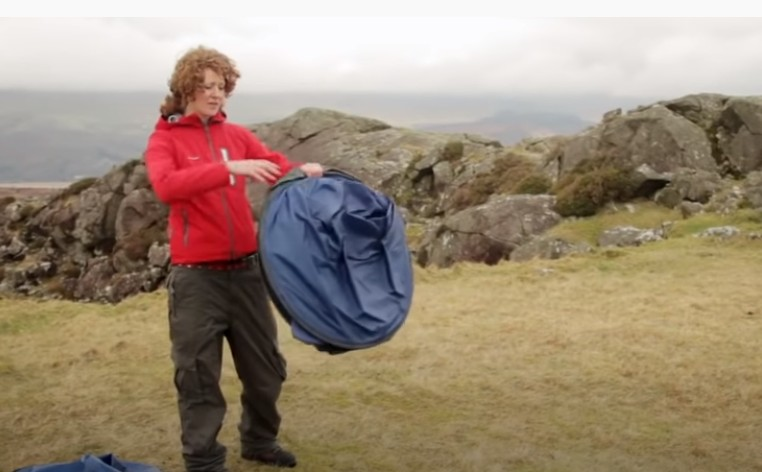 Seal the tent in the bag