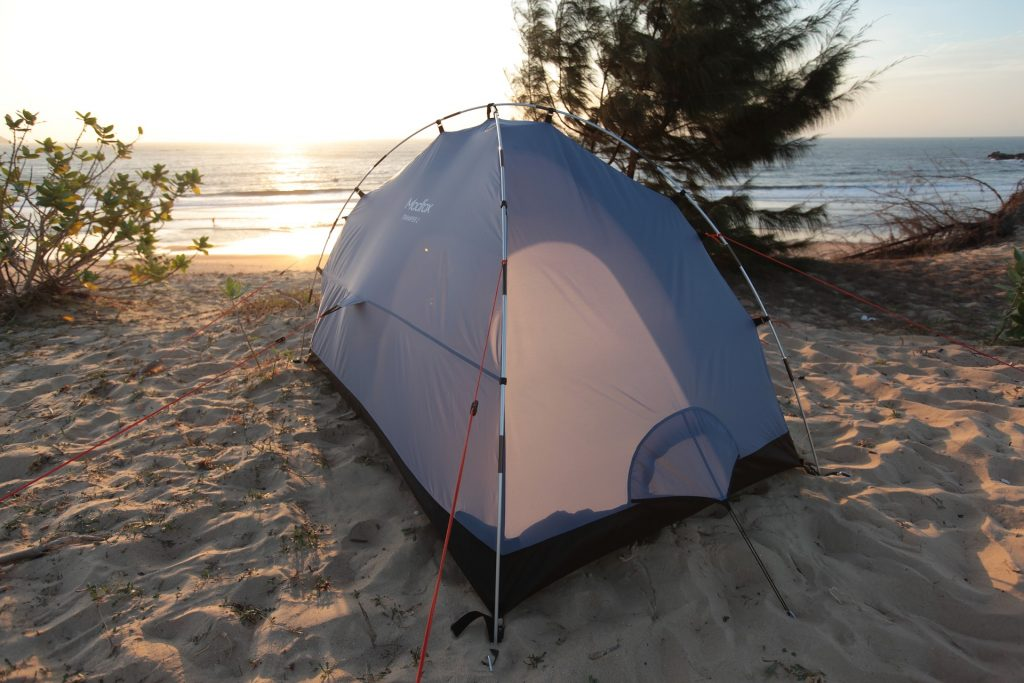 Tent in Windy Conditions